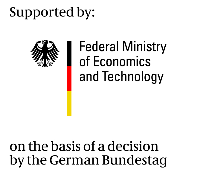 BMWi - Supported by: Federal Minitry of Economics and Technology
